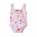 Petit Bateau Baby Girl Rose Printed Swim Suit - <B>Sold Out</B>