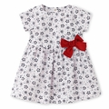 Petit Bateau Baby Girl White Floral Dress - <b>Size 24M left</B>