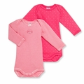 Petit Bateau Baby Girls Fuchsia Pink 2 Pack Bodysuits - <B>Sold Out</B>