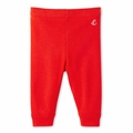 Petit Bateau Basic Red Legging - <B>Last one size 3M</B>
