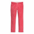 Petit Bateau Big Girls Slim Cords in Impatience Pink - last one size 3Y!