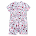 Petit Bateau Bird Print Short Romper - <B>Sold Out</B>