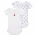 Petit Bateau Daisy 2 Pack Short Sleeve Bodysuits -  <b>Sold Out</B>