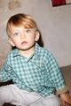 Petit Bateau gingham Check Infant Shirt - last one size 12M!