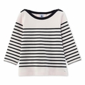 Petit Bateau Girl Long Sleeve Iconic Striped Top - Coming soon!