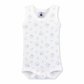 Petit Bateau Plush Bunny Sleeveless Bodysuit - <B>Sold Out</B>