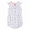 Petit Bateau Sleeveless Shoreside Play Printed Bubble