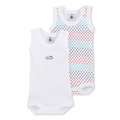 Petit Bateau Stars 2 Pack Sleeveless Bodysuits - sold out!