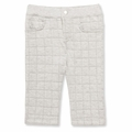 Petit Bateau Unisex Quilted Pant in Gray - <b>Size 6m left</b>