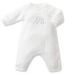 Petit Bateau Unisex Quilted Tube Knit Romper - <B>Sold Out</B>