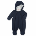 Petit Bateau Unisex Snowsuit in Navy - <B> Last one size 6m left</B>