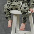 Rylee and Cru Black Bear Sweatpant -  <b>Sold Out</b>