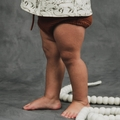 Rylee and Cru Knit Bloomer in Rust - <B>sold out</B>