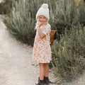 Rylee and Cru Leafy Dress - <B>Sold Out</B>
