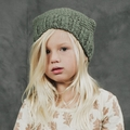 Rylee and Cru Nubby Knit Beanie in Moss  <B>Sold Out</B>