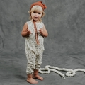 Rylee and Cru Woodland Jumpsuit - <B>Last one size 4Y</B>