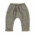 Rylee and Cru Woven Baggy Pant in Moss - <B>Sold Out</B>
