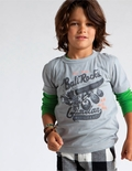 Tea Collection Bali Arts and Crafts Bali Rocks Tee - <B>Last one size 4T left</B>