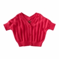 Tea Collection Bali Safari Pointelle Cropped Cardi - <B>Size 5 & 6</B>