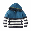 Tea Collection Chester Stripe Hoodie in Aruba