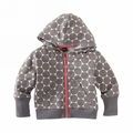 Tea Collection Fresh Finland Back to School Helsinki Dots Hoodie - <B>Last One Size 8T left</B>