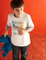 Tea Collection Mercado Mexico Superstars Tee - <B>Last One Size 5T left</B>