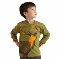 Tea Collection Swedish Style Daring Deer Tee - <B>Size 10 & 12</B>