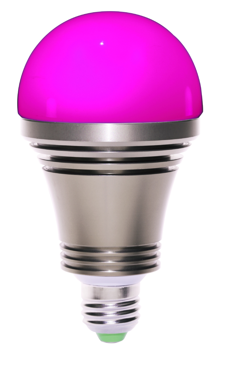 Isuper iphone android phone bluetooth controlled color for Bluetooth controlled light bulb