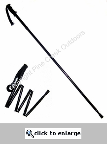 Shorter Persons Folding Collapsible Travel Hiking Trekking Pole-Short