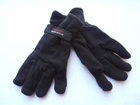Warm Polar Fleece Insulated Gloves Classic Black