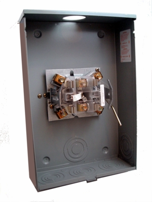 5T 200A Steel Enclosure