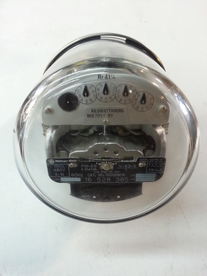 GE Watthour Meter Form 5S CL 10 480V