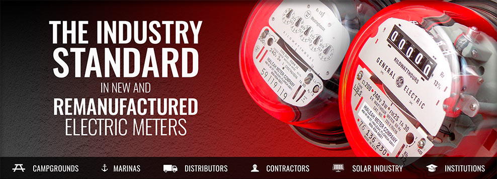 The Industry Standard in New and Remanufactured Electric Meters