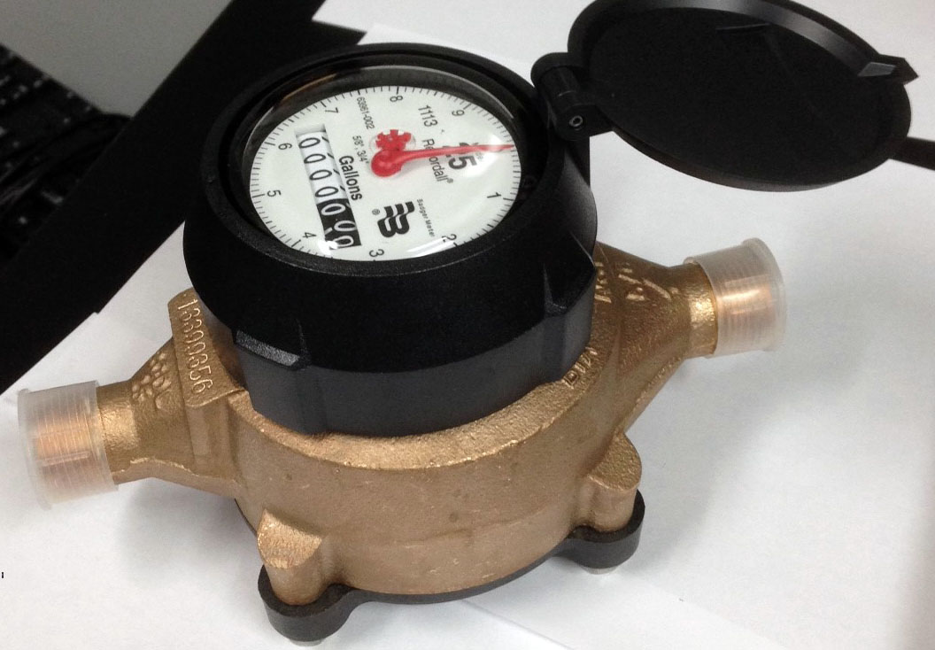recordall disc series water meter