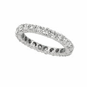 10 pointer diamond eternity band