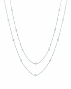 15 pointer 30 station 60 inches diamond necklace