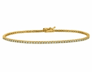 2 Pointer diamond bracelet