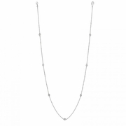 "7 Pointer 7 station 18"" diamond necklace"