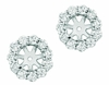 9mm diamond earring jackets