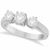 Diamond 3 stones ring