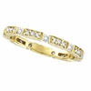 Diamond Eternity Stack Ring Band