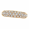 Diamond Fashion Ring, 14K Rose Gold (Pink Gold)