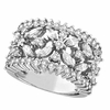 Diamond Ring, 18K White Gold