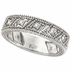 Diamond Ring Band White Gold