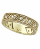 Diamond Ring Band Yellow Gold