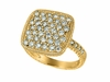 Diamond square ring