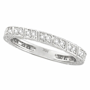 Diamond Stack Stackable Ring Band