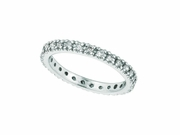 Eternity Diamond Stackable Stack Band Guard Ring