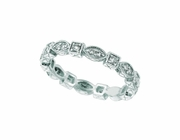 Eternity Diamond Stackable Stack Band Ring