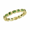 Eternity Tsavorite Stackable Guard Ring
